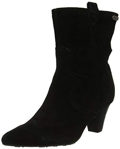 Pepe Jeans London Damen Gospel TEX Stiefeletten, Schwarz (Black 999), 40 EU