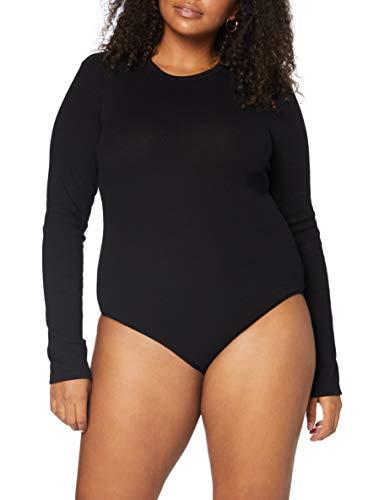 Marca Amazon - MERAKI Trajecito de Algodón Mujer, Negro (Black), M, Label: M