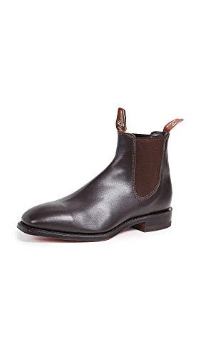 R.M. Williams Men's Classic RM Leather Chelsea Boots, Chestnut, Brown, 9 Medium US