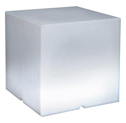 Lumisky 303167 - Lámpara LED portátil con Mando a Distancia (40 x 40 x 40 cm, 5W), diseño de Cubo