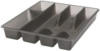 Ikea SMÄCKER 902.417.88 Smacker Flatware Tray, Gray, 12 x 10