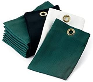 Amazon Com Putting Green Golf Ball Washer Dozen Tri Fold Cotton Tee Towels Black Sports Outdoors