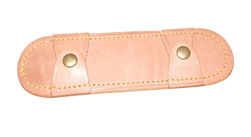 Bag-Stopper - Schulterschoner - Schulterpolster - Schulterschutz für Taschen (Natur/Stahl)