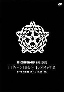 "BIGBANG PRESENTS ""LOVE&HOPE TOUR 2011""(通常盤) [DVD]"