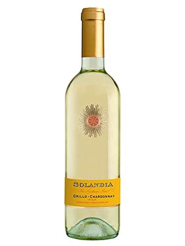 Grillo Chardonnay Sicilia DOC - Vino bianco fermo 2020 - Bottiglia 750 ml