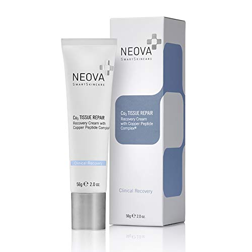 NEOVA Cu3 Tissue Repair Recovery Cream with Copper Peptide Complex, 2 Oz