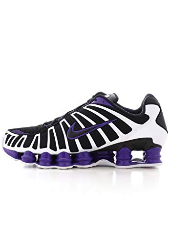 Nike Shox Tl - Zapatillas ligeras de atletismo para hombre, color Negro, talla 40.5 EU