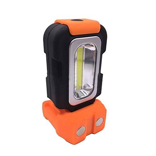 Generic PassBeauty Lampe Torche Portable 3 W COB pour activités de Plein air Camping Travail d'urgence Crochet magnétique