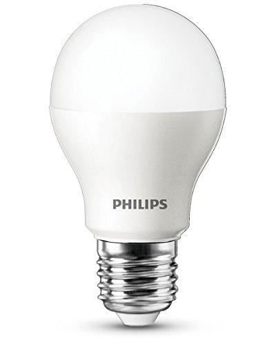 Philips Ampoule LED Standard Dépolie Culot E27 6 W Watts Consommés Équivalence Incandescence 40W