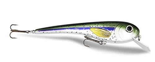 Fischngghost   FreshFather – 22 cm, 105 g – XL wobbler per la pesca al luccio, esca per la pesca a traino, esca artificiale per pesci predatori, 1 pezzo