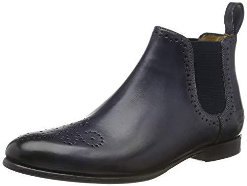 Melvin & Hamilton Damen Sally 16 Chelsea Boots, Blau (Crust Navy/Ela.Navy/Hrs), 39 EU