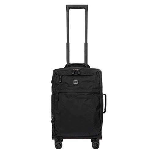 Bric's USA Luggage Model: X-BAG/X-TRAVEL |Size: 21' spinner w/frame | Color: BLACK/BLACK