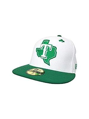 New Era Texas Rangers 59Fifty Fitted Hat MLB Straight Brim Baseball Caps