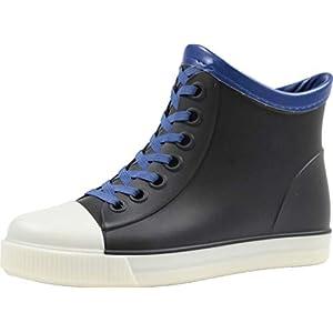 (ベアークリークキッズ) BEAR CREEK.KIDS BCK030 子供 キッズ ジュニア 靴 男の子 女の子 レイン ショート ブーツ (19.0cm, ブラック)