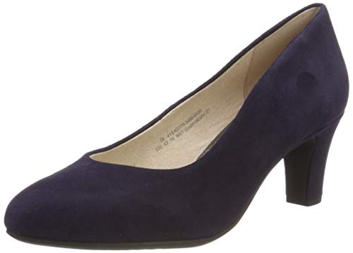 bugatti Damen 412637703400 Pumps, Blau (Dark Blue 4100), 36 EU