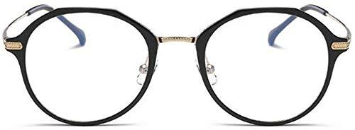 Unisex super leicht polarisierte Sonnenbrille, Der Blaue Licht Polygon Modell Stahlrahmen Männer und Frauen LUE Shading Gläser, Anti-Glare-Müdigkeit, Kopfschmerzen, Ermüdung der Augen, Computer/Mobi