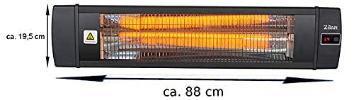 Karbon Heizstrahler   Terrassenstrahler   Heizgerät   Infrarotstrahler   Carbonstrahler   Bild 4*