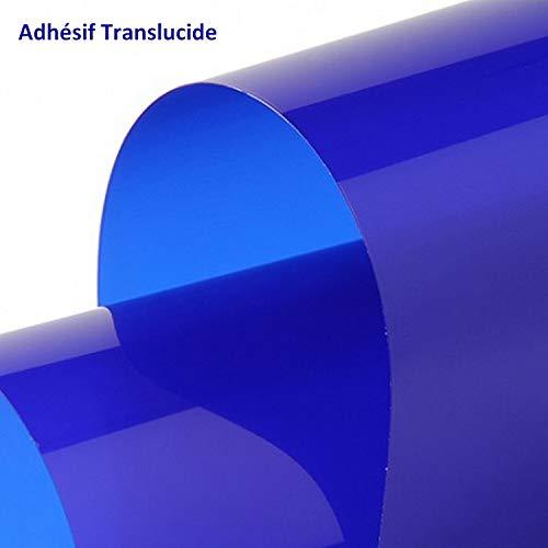 LAV RENOVAUTO Bandeau Pare Soleil TRANSLUCIDE Bleu