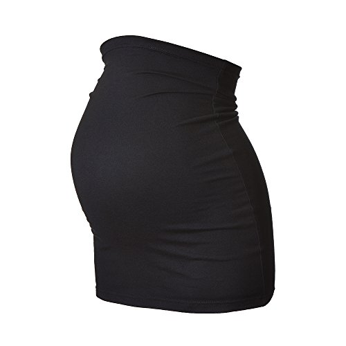 Harry Duley Umstands Bauchband - Extra Lang (Vor der Schwangerschaft Größe (EUR) 56, Schwarz)