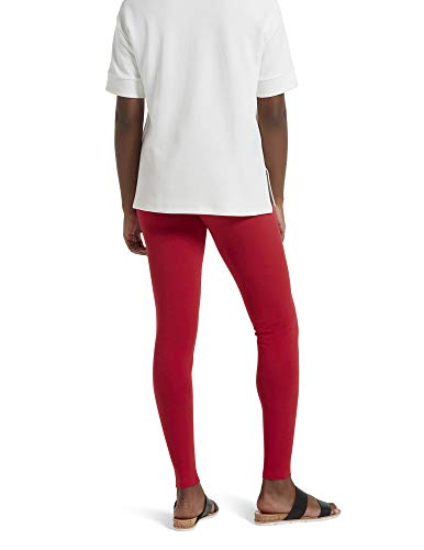 No Nonsense Women's Cotton Legging, Red Hot, Small