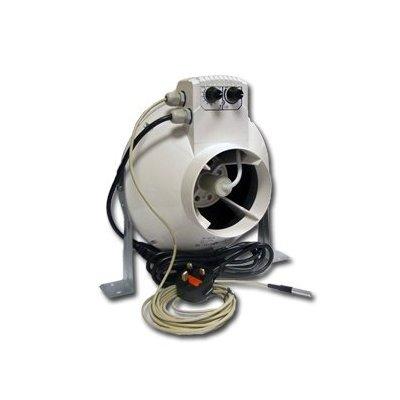 Extractor de aire Vents VK 150 Un con Termostato + Regulador 460 m³/h (150mm)