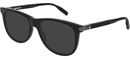 Mont Blanc Hombre gafas de sol MB0031S, 010, 57