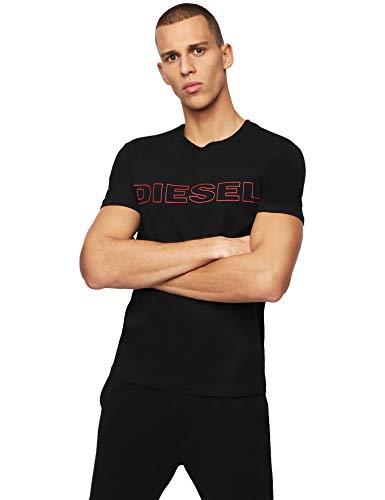 Diesel Herren T-Shirt UMLT-JAKE, Schwarz (Black 900), XXL