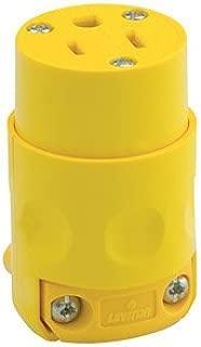 Leviton 000-515CV, 10 Pack, Yellow