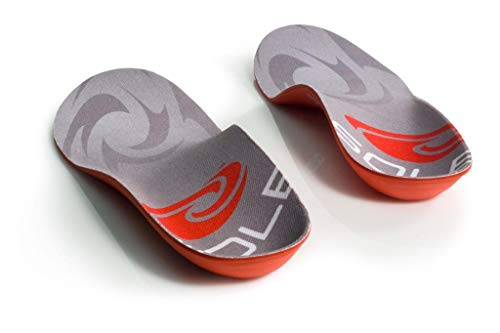 SOLE Softec Response Thin Sport Heat Moldable Custom Insol Size: M6/W8 Red