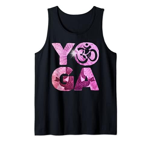 Yoga Namaste om Camiseta sin Mangas