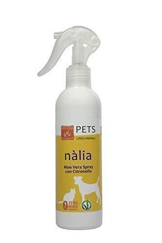 Benessence - Spray con Citronella ed Aloe Vera per Cani e Gatti - 250 ml