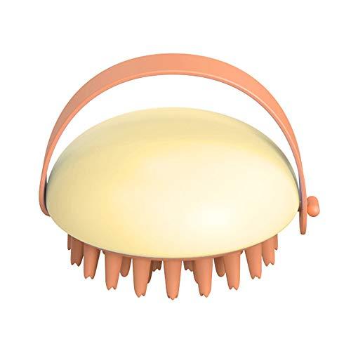 TOPmontain Cepillo de silicona para el cuerpo, cepillo de masaje cómodo, cepillo de masaje para estimular el champú Cepillo de masaje suave de silicona para el cuerpo, cepillo de ducha