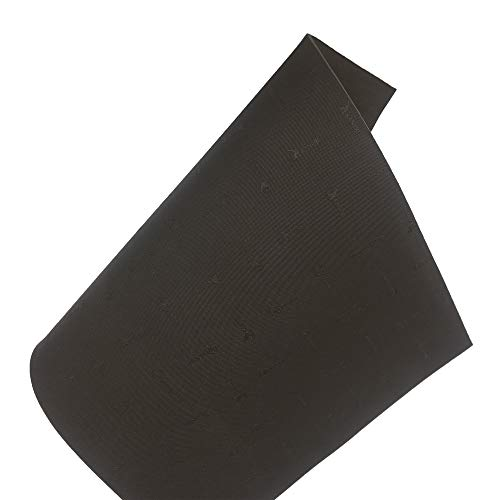 KANEIJI Shoe Repair Rubber Soling Sheet, 57 * 38cm, Different Colors and Thickness can Choose, 1 Sheet (Dark Brown, 4mm Thickness)