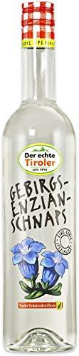 Tiroler Kräuterdestillerie - Gebirgs Enzian Schnaps (1 x 1,00 l)