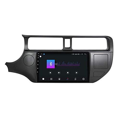 WY-CAR unità Principale Stereo per Autoradio Android 10.0 da 9 Pollici per KIA Rio 2012-2014, Navigazione GPS/FM/RDS/DSP/Bluetooth/Comandi al Volante/Fotocamera Posteriore,8 Core-WiFi: 1+16G