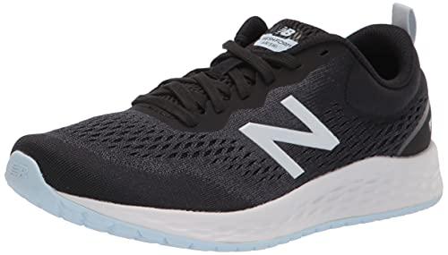New Balance Women's Fresh Foam Arishi V3 Running Shoe, Black/White, 9.5