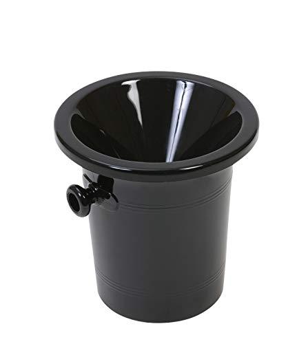 Ludi-Vin - Cazadora acrílica (2,5 L), color negro