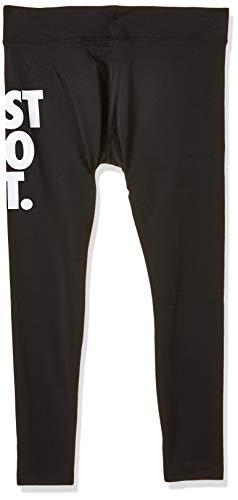 Nike Damen Tights Sportswear Leg-A-See JDI, Black/White, S, CJ2657-011