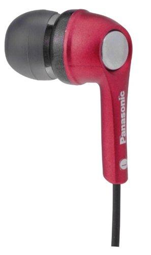 Panasonic RP HJE 240 E In Ear Kopfhörer (inkl. 3 Adapter in S,M,L) rot