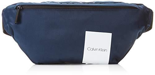 Calvin Klein Herren Item Story Waist Bag Schultertasche, Schwarz (Navy), 15x1x37 cm