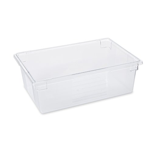 Rubbermaid Commercial Products 47L ProSave Food Box - Clear