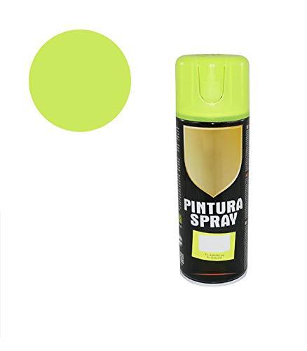 Pintura Spray Amarillo Fluorecente 400 Ml