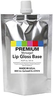 DDCI Versagel Lip Gloss Base Clear (4.23 Fl. oz, 125 ml.) for DIY Beauty and Cosmetics MADE IN U.S.A.