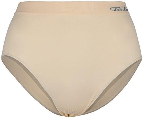 SOUNON 2 Damen Microfaser Slip Apricot, Groesse: XL