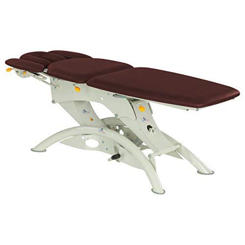 Lojer Capre F5RH - Camilla de masaje hidráulica + techo 5-TLG 75 cm