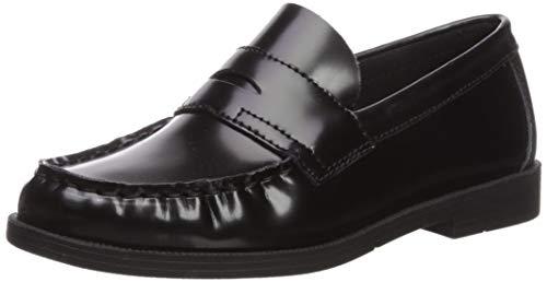 First Semester Kids Footwear Unisex-Kid's FS-TEACHA, Black, 3.5 Wide US Big Kid