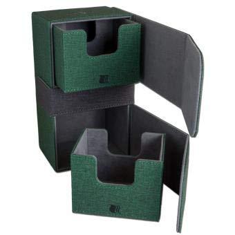 ADC Blackfire Entertainment BF03198 Cabrio Premium Dual Deck Box, grün