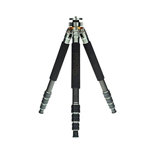 Rollei Lion Rock 20 - Trípode Profesional con Alta Estabilidad y Capacidad de Carga – para la Estabilidad de la cámara - Grafito/Verde