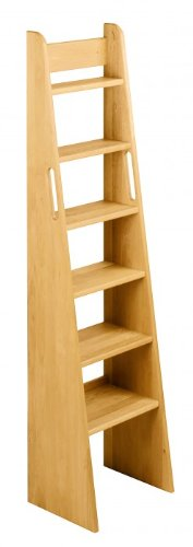 BioKinder 22243 Escalera de Mano Noah, Cama de Aliso de Madera Maciza 160 cm