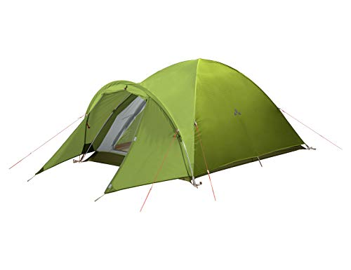 VAUDE 2-personen-zelt Campo Compact XT 2P, 2 Personenzelt, einfacher Aufbau, chute green, one Size, 142214590